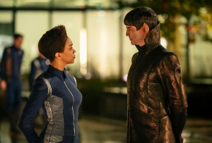 Star Trek Discovery Season 1 Finale Burnham Sarek