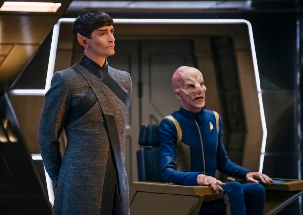 Star Trek Discovery Season 1 Finale Sarek Saru