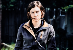 the walking dead season 9 lauren cohan staying maggie