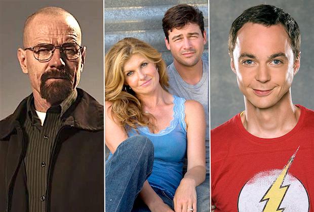 Writers Strike TV Shows Breaking Bad Friday Night Lights The Big Bang Theory