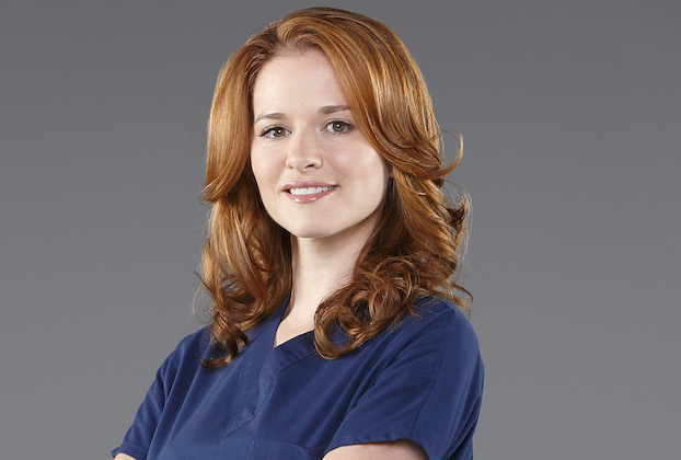 "GREY'S ANATOMY - ABC's ""Grey's Anatomy"" stars Sarah Drew as Dr. April Kepner. (ABC/Bob D'Amico)"