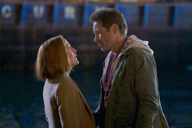 The X Files Finale Recap Season 11 Episode 10 Scully Pregnant Tvline