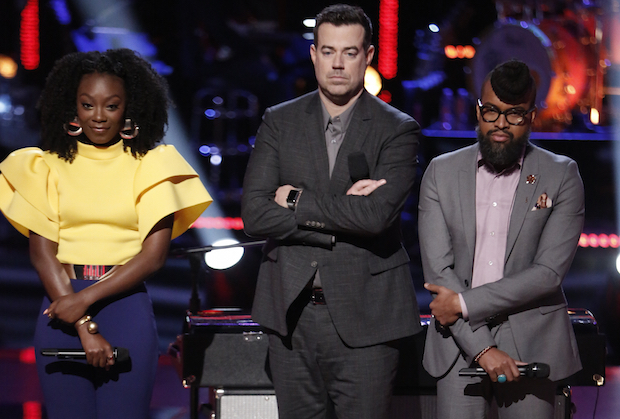 the voice recap terrence cunningham pryor baird knockouts