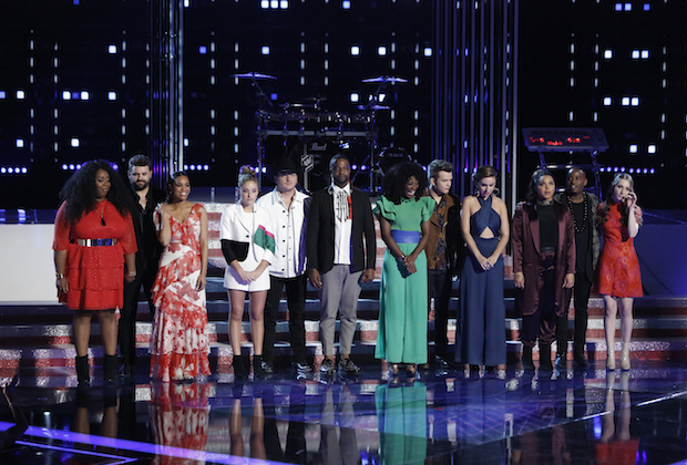 the voice recap top 12 results dr king eliminated