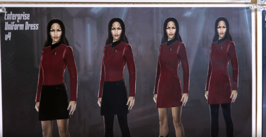 Star Trek Discovery Season 2 Enterprise Uniforms
