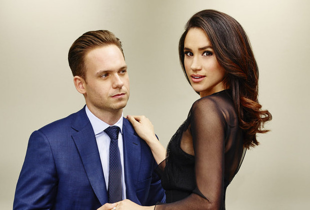 Suits USA Mike Rachel Patrick J. Adams Meghan Markle