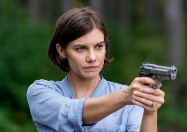 The Walking Dead Lauren Cohan Back Season 9 Maggie
