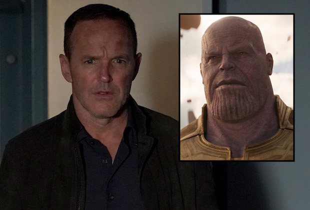Agents of SHIELD Thanos Infinity War