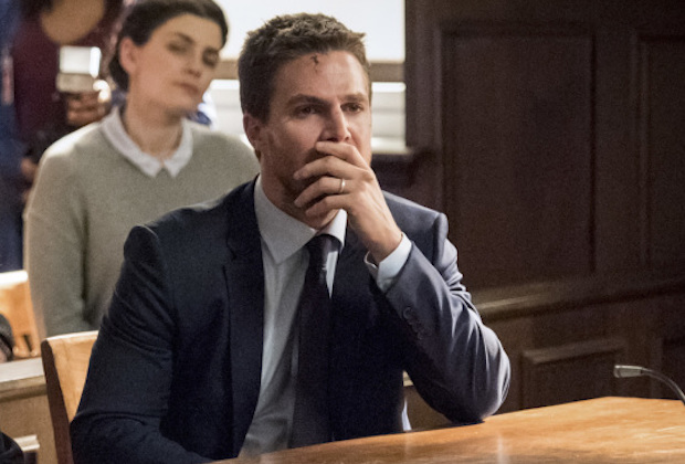 Arrow Recap Oliver Trial Tommy