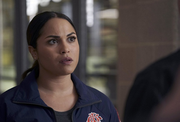 Chicago Fire Monica Raymund Exiting