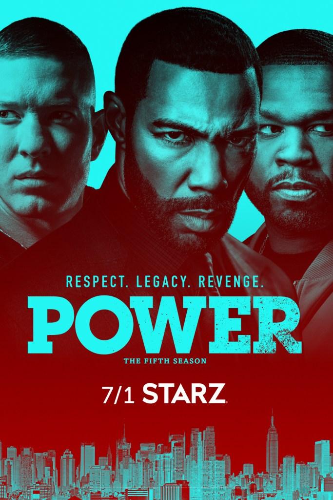 Power Season 5 Poster Key Art Starz