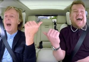 Carpool Karaoke Paul McCartney