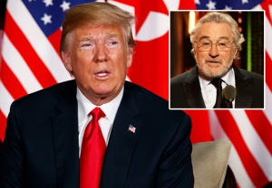 Donald Trump Robert De Niro