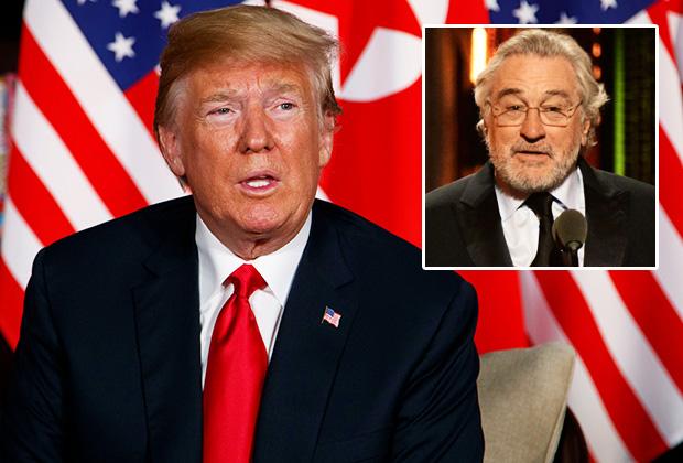 Donald Trump Robert De Niro