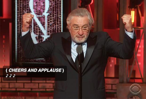 Robert De Niro Tony Awards
