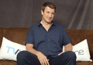 nathan fillion video interview castle the rookie firefly