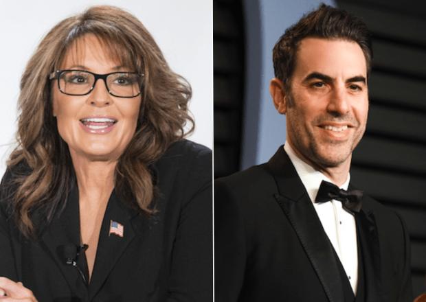 Sarah Palin Sacha Baron Cohen Showtime Who Is America