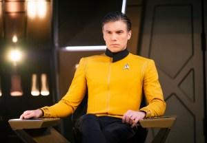Star Trek Discovery Season 2 Pike Anson Mount