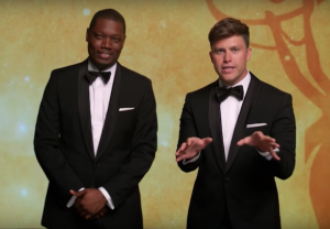 Emmys 2018 Promo Colin Jost Michael Che Video