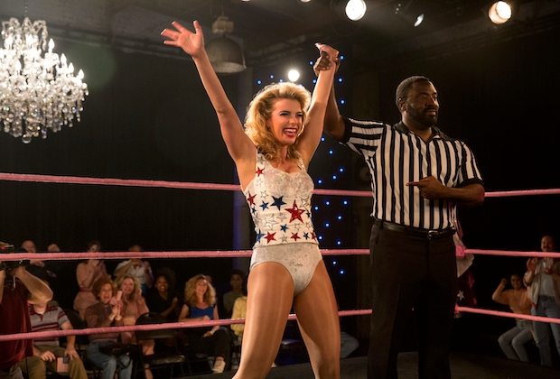 GLOW Season 2 Betty Gilpin Interview Podcast
