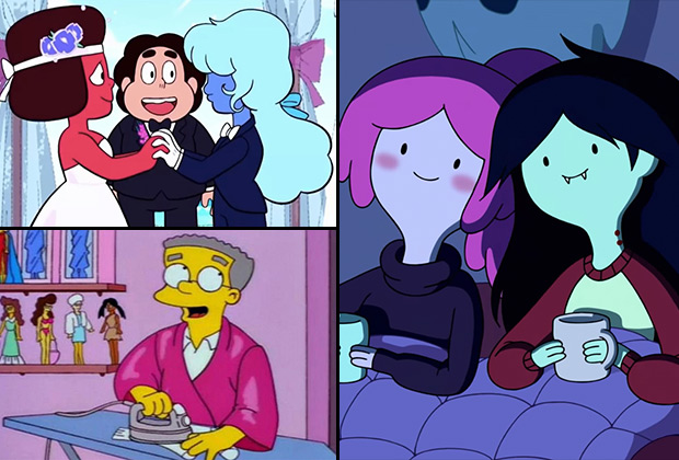 LGBT Cartoon Characters
