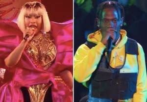 Nicki Minaj Travis Scott VMAs