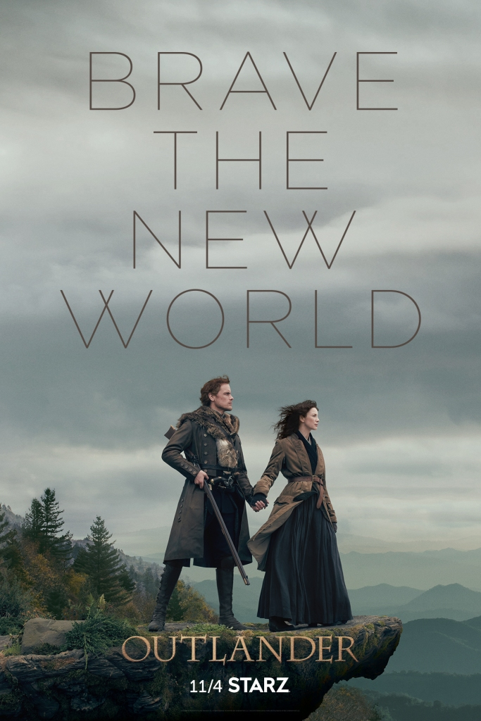 Outlander Season 4 Poster Key Art Jamie Claire Starz