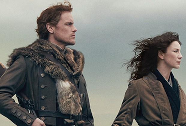 Outlander Season 4 Poster Key Art Starz Jamie Claire