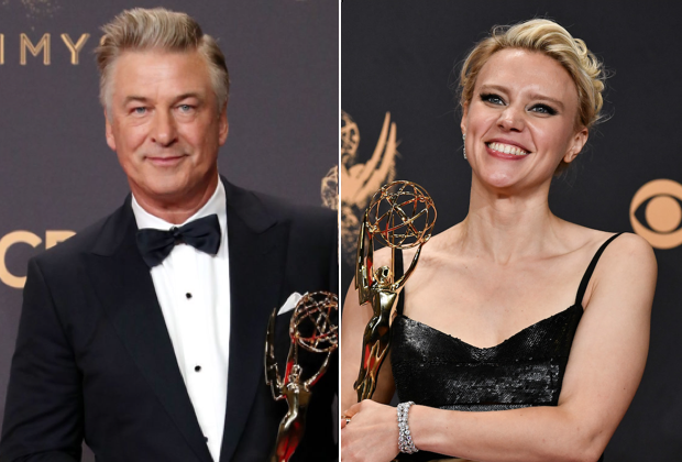 Emmys SNL Supporting Comedy Category Alec Baldwin Kate McKinnon