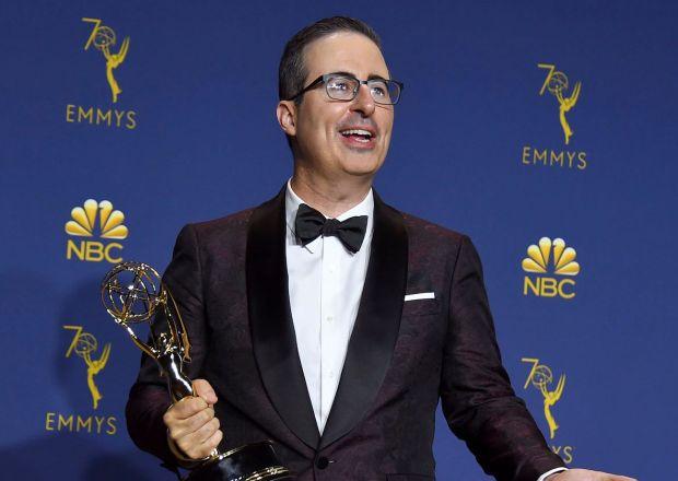 John Oliver Emmys 2018 Winner Donald Trump