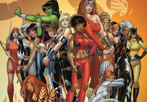 Marvel Series Female Superheroes