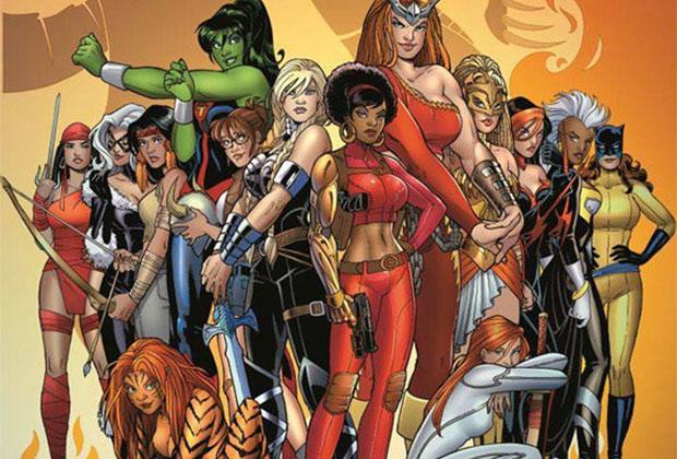 Marvel Series Female Superheroes