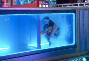 Ninja Warrior Underwater Obstacle