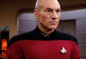 Star Trek Patrick Stewart Jean Luc Picard Series Photo
