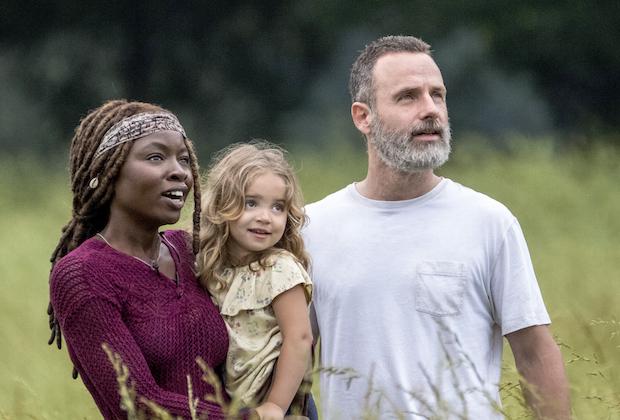 the-walking-dead-season 9 rick michonne spoilers scott gimple
