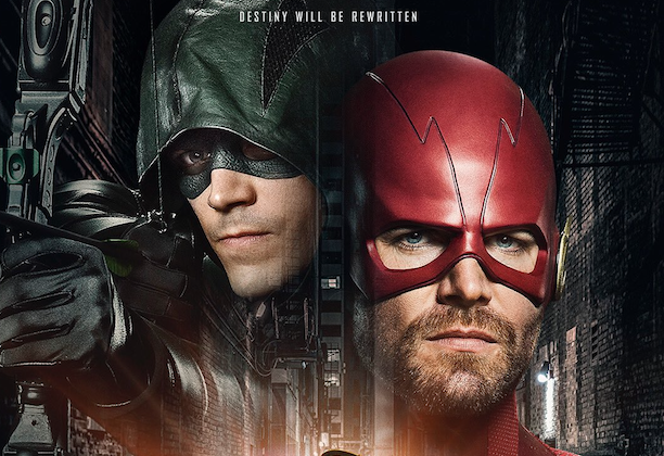 Arrowverse Crossover Poster