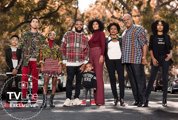 Blackish Season 5 Cast Photo Yara Shahidi