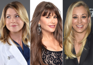 Highest Paid TV Actresses 2018 Ellen Pompeo Sofia Vergara Kaley Cuoco