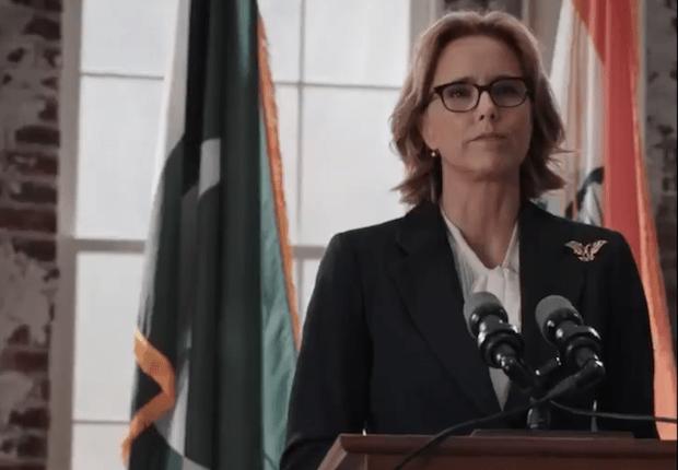 Madam Secretary Speech Premiere Season 5 Episode 1 Nationalism