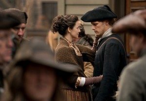 Outlander Season 4 Sam Heughan Caitriona Balfe Interview
