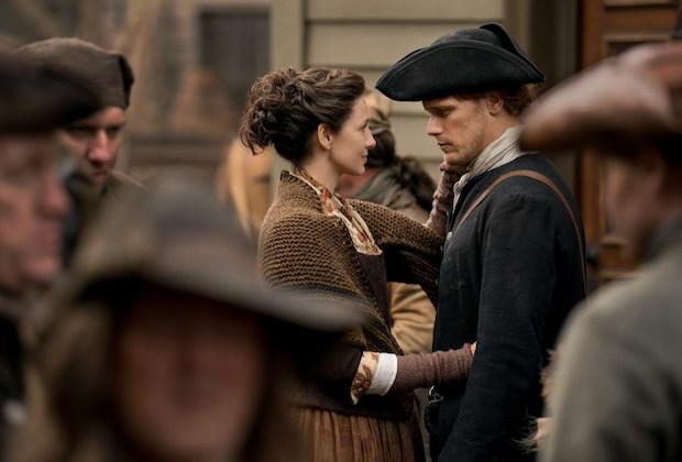 Outlander Season 4 Sam Heughan Caitriona Balfe Interview