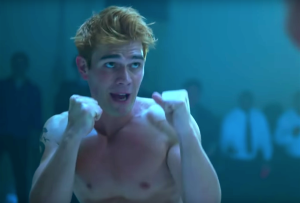 Riverdale Season 3 Episode 3 Archie Boxing