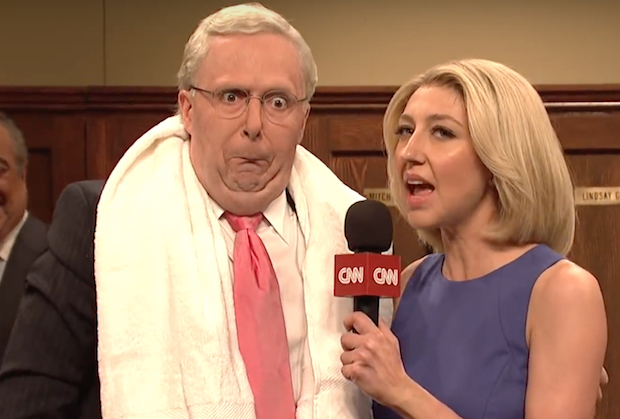 SNL Mitch McConnell