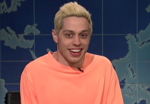 snl pete davidson kanye west response video