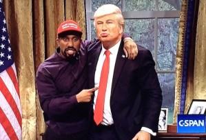 SNL Trump Kanye
