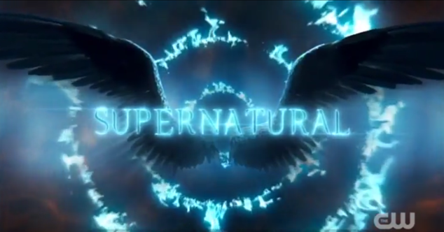 Supernatural Season 14 Title Card