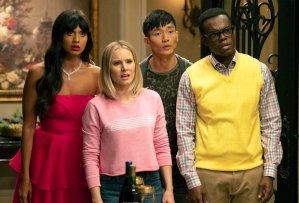 The Good Place Season 3 Episode 5 Tahani Eleanor Jason Chidi