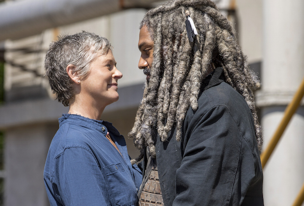 walking-dead-carol ezekiel spoilers king season 9 interview