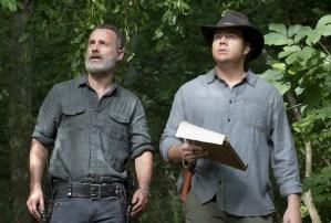 the walking dead season 9 episode 2 recap aaron arm gabriel anne sex