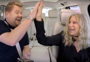 Carpool Karaoke Streisand